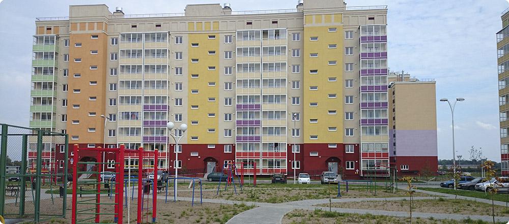 Комплекс многоквартирных домов по улице Левитана ГП-2