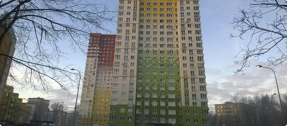 3 корпус жилого комплекса