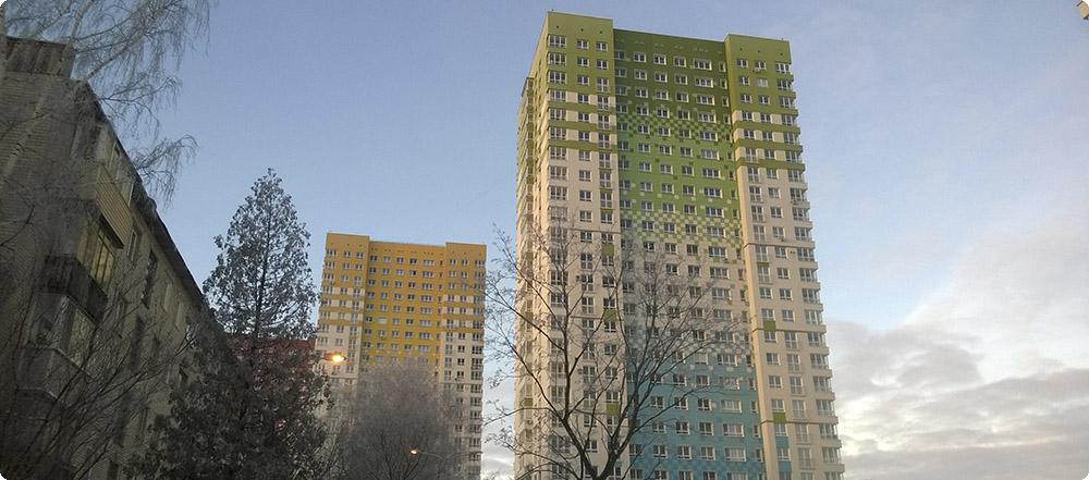 6 корпус жилого комплекса