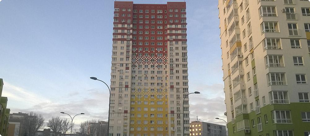 4 корпус жилого комплекса