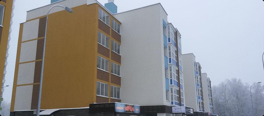 1 корпус жилого комплекса